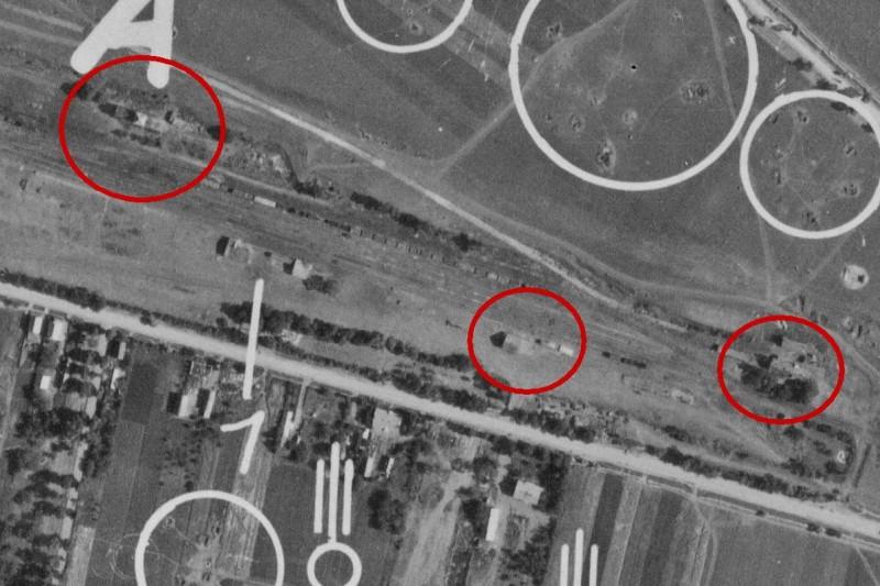 Эшелон с танками КВ на станции Гусятин