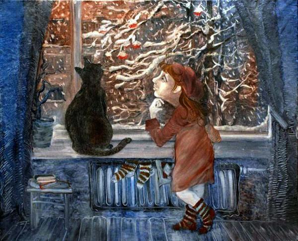 Надежда Ильина Первый снег