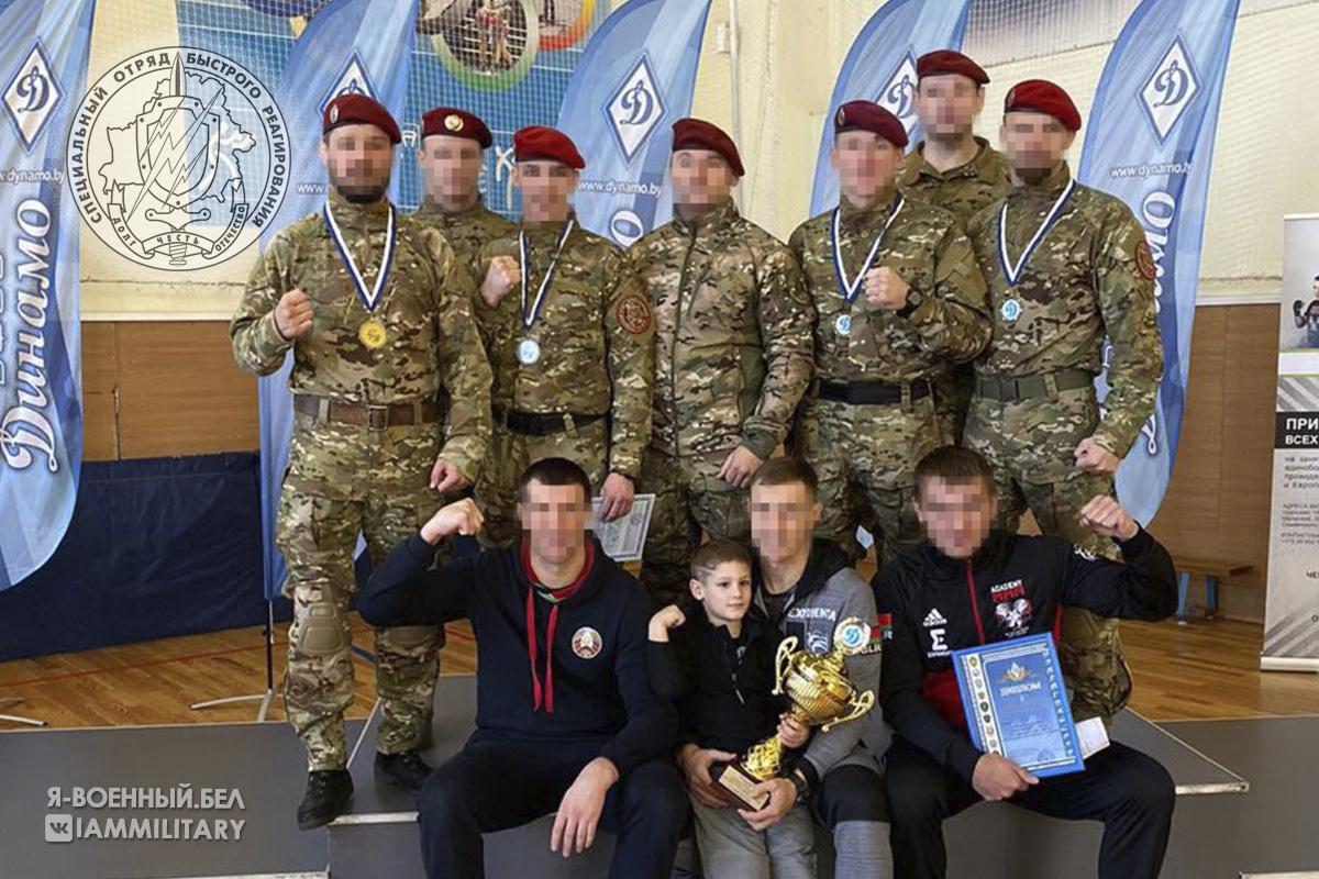 Команда СОБР - победители турнира