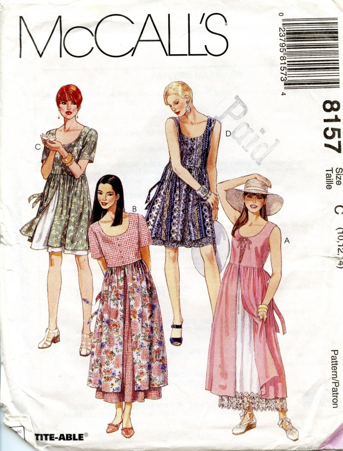 Double Skirt Dress004