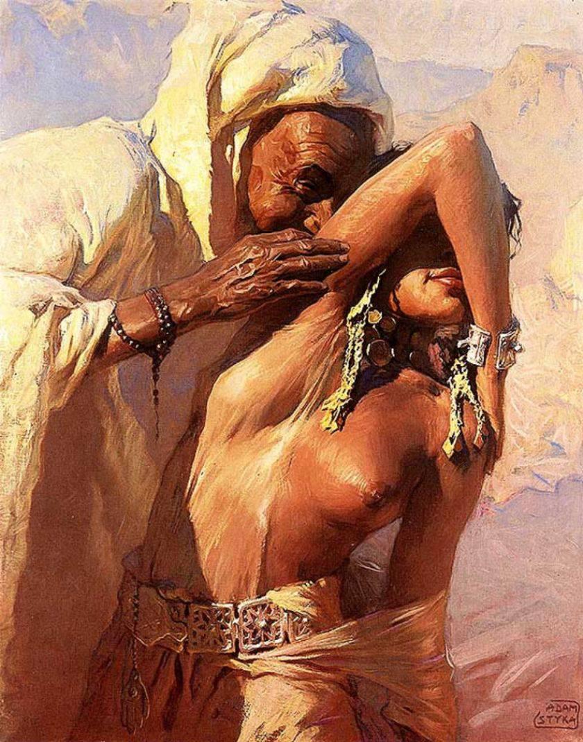 Art erotic oriental