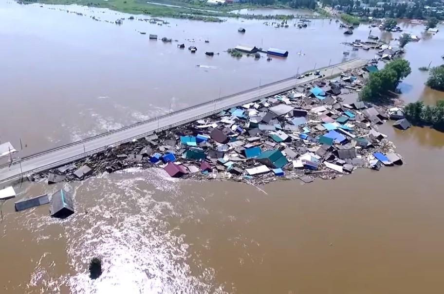 фото тулун наводнение восточном