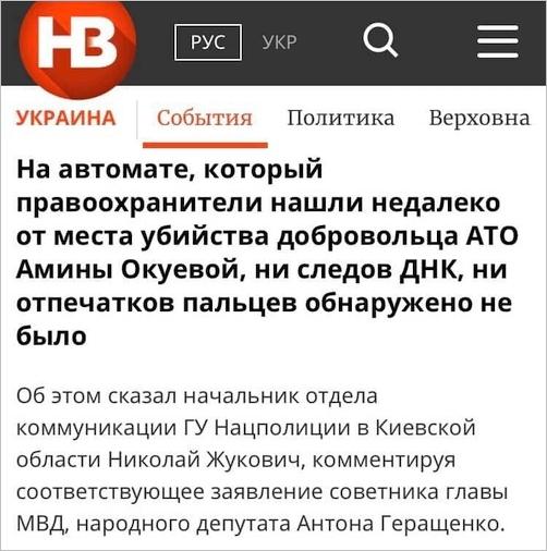 Затримано організатора вбивства Окуєвої, - глава Нацполіції Клименко - Цензор.НЕТ 7424