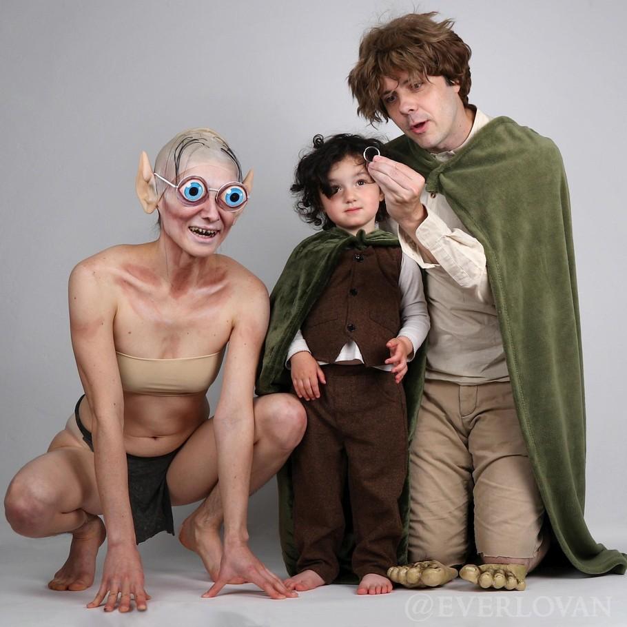 Правильное семейное фото