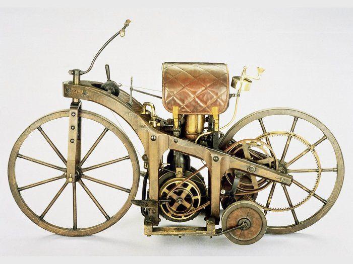 Первый в мире мотоц.