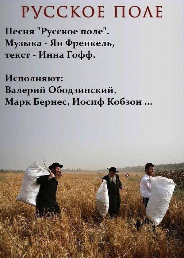 картинка русское поле евреи характер благородного зверя
