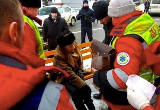 Автомобіль із кортежу Порошенка збив 87-річного чоловіка в центрі Києва - Цензор.НЕТ 9143