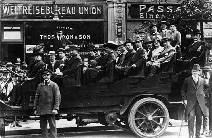 Групповой тур, 1912 г.