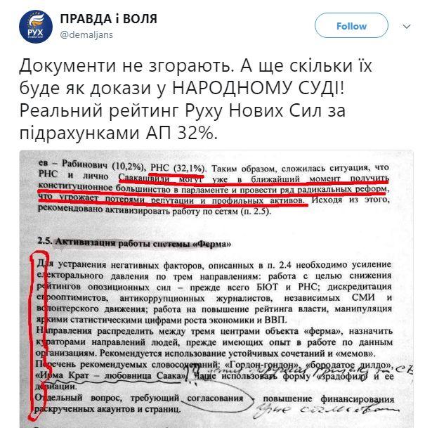 Дерев'янко вийшов з партнерства із Саакашвілі - Цензор.НЕТ 447