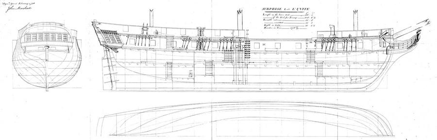 Реплика HMS «Surprise»   TopDesk