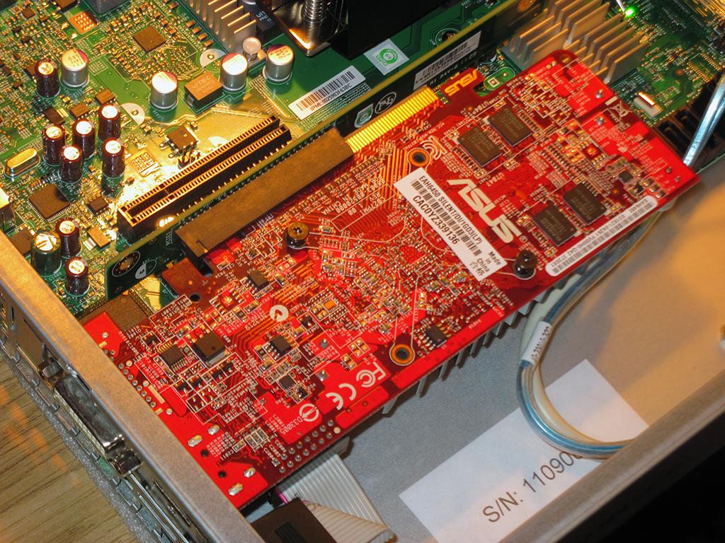 Test VGA through Riser Card