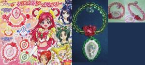 Precure 5 movie bracelets