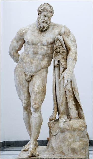 Геркулес Фарнезский, Национальный археологический музей Неаполя