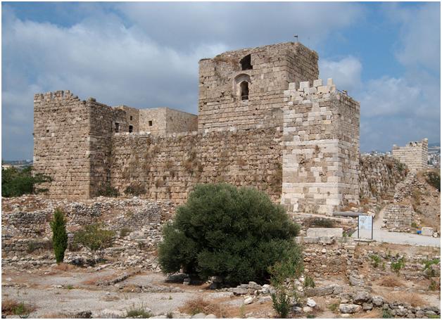 Крепость Библа XII века