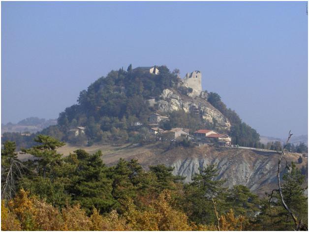 Руины Каносского замка