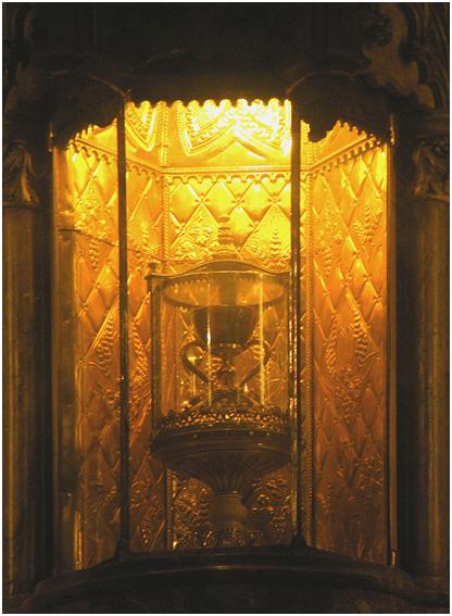 Чаша в кафедральном соборе Валенсии