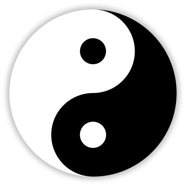 Приобретение Великим Разделением противоположных свойств «Инь» и «Ян»