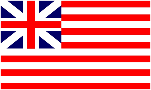 Флаг  Британских Колоний в Сев. Америке