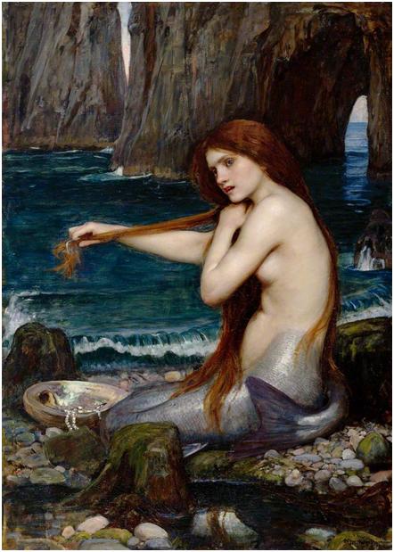 «Морская дева», Д. У. Уотерхаус (1900)