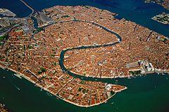 Островная часть Венеции. Почти Инь-Ян?