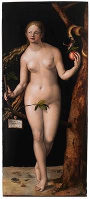 «Ева», фрагмент диптиха работы А.Дюрера