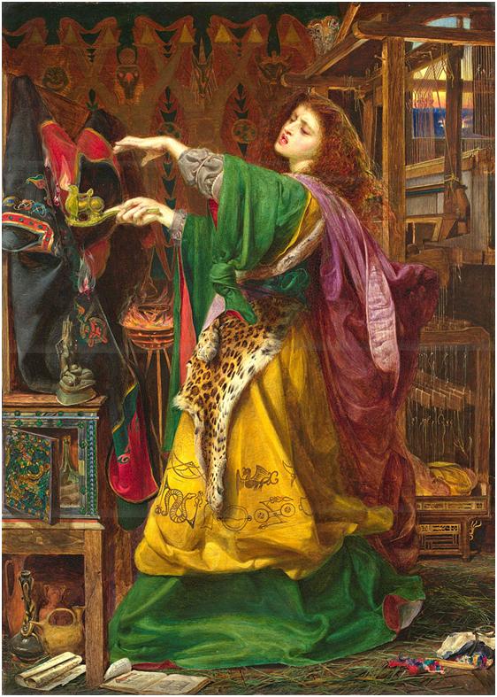 «Ведьма Моргана», Э. Ф. Сэндис, 1864