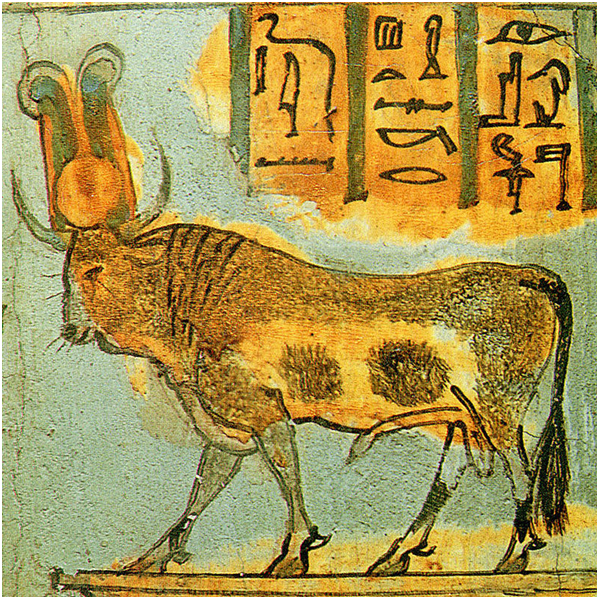 Апис на саркофаге XXI династии