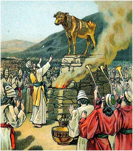 Поклонение евреев Золотому Тельцу