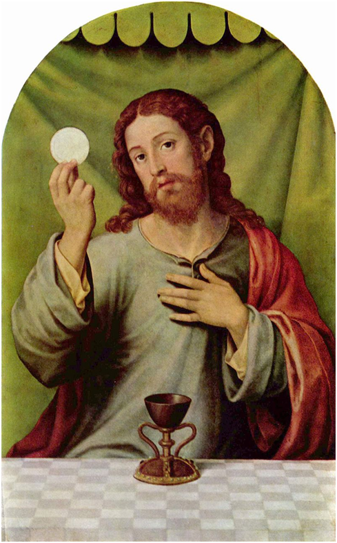 Хуан де Хуанес. Иисус Христос с причастием