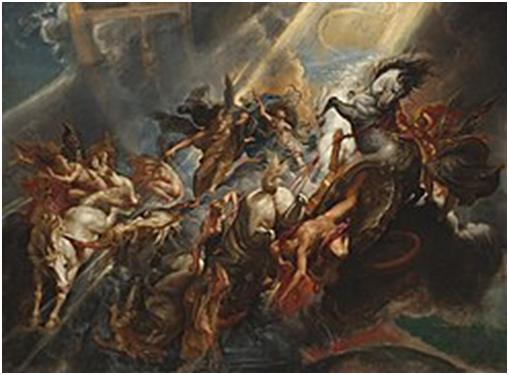 Рубенс. Падение Фаэтона, 1604—1605