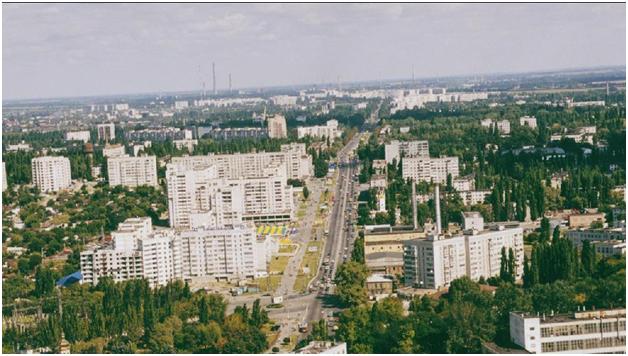 Нагорная часть Кременчуга