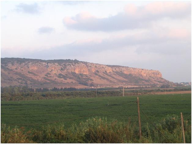 Вид на гору Кармель с юго-запада
