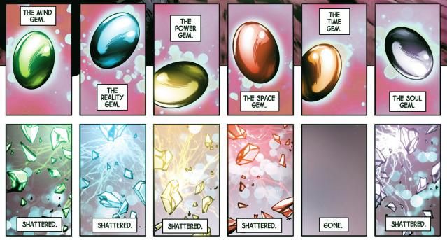 Soul Gems shattered