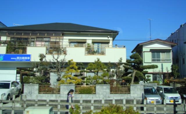 пригород Японии