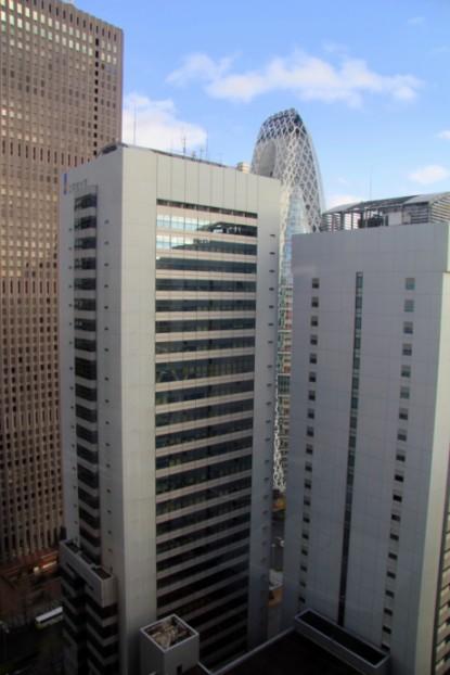 32 этаж гостиницы KEIO PLAZA Tokyo