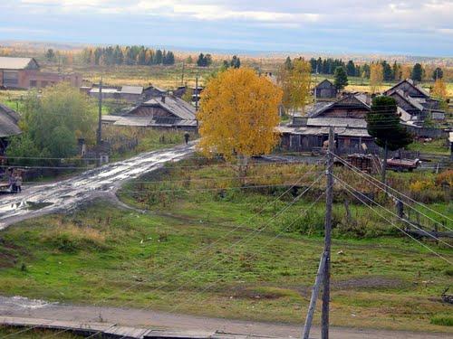 Фото деревни курейка