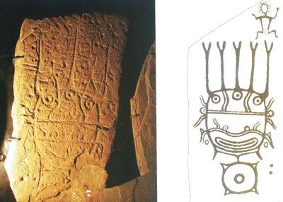 Хакасия петроглиф