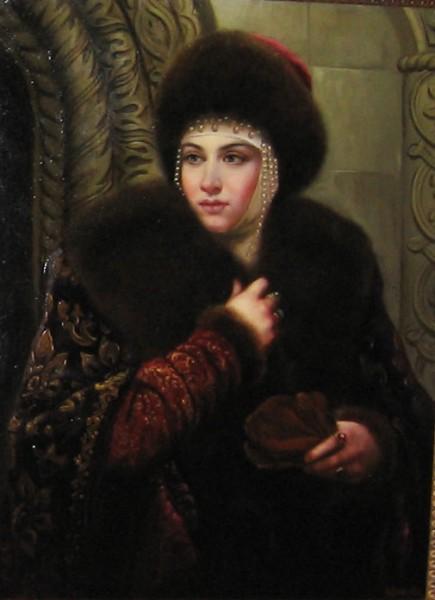 Пару слов о женах и подругах Ивана IV Васильевича... 322