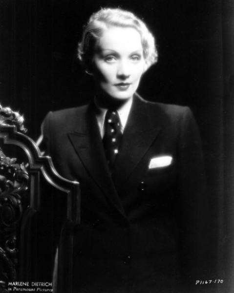 Marlene-Dietrich-suit