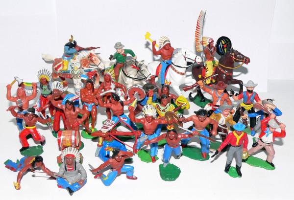Мои детские игрушки. Солдатики