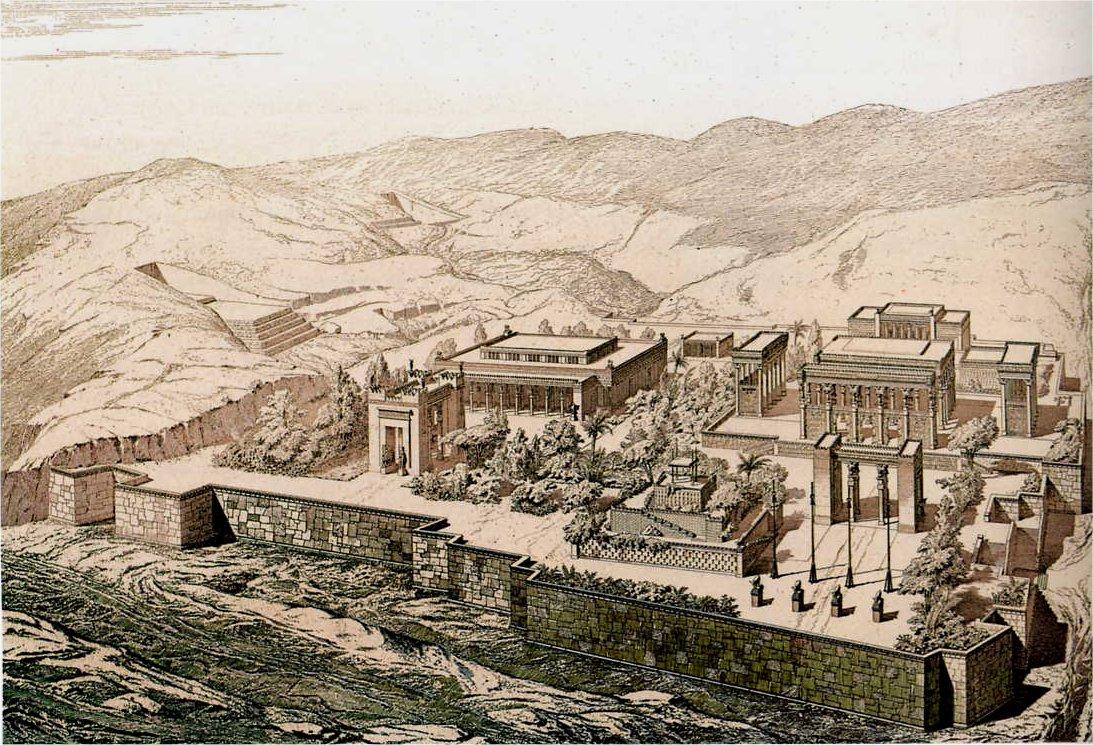 Реконструкция Персеполя