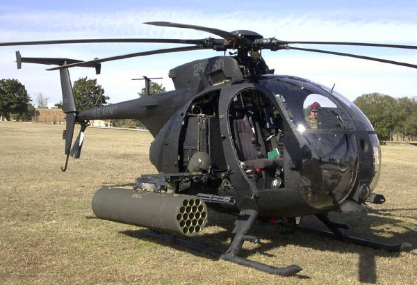 MH-6 Little Bird usa army