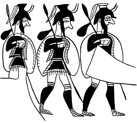 ахейская пехота