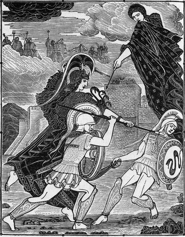 Гектор убивает Паракселая