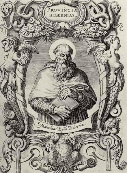 Агостино-Карраччи--Святой-Малахия