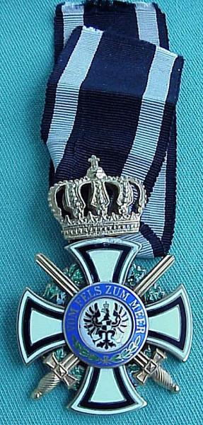 Royal Hohenzollern House Order, KC X