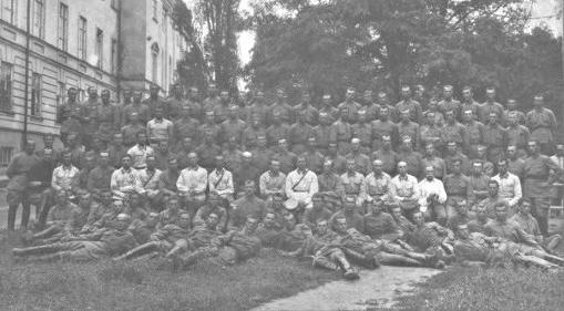 Школа червоных старшин. 3-й выпуск. Харьков, 1925