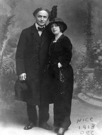 Гудини с женой