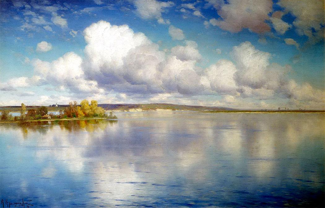 Озеро, 1896, Госудаpственный Владимиpо-Суздальский истоpико-аpхитектуpный и художественный музей-заповедник.jpg