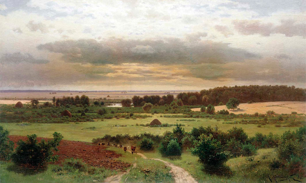 Лесные дали, Херсонкий областной художественный музей.jpg